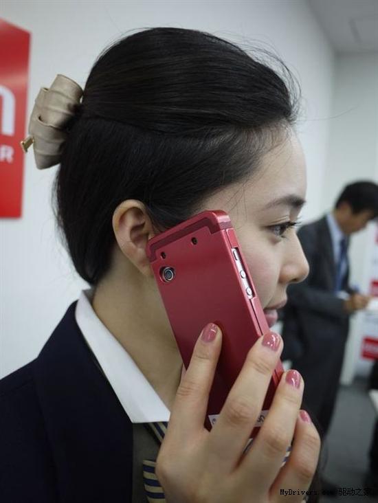 日本发明手机触摸传导接听技术