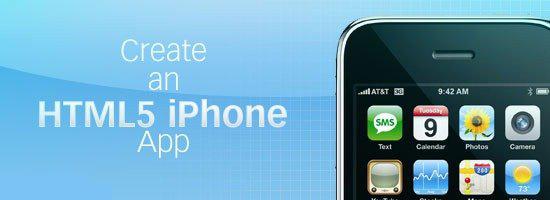 如何制作HTML 5的iPhone应用程序