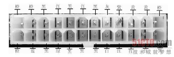 针电源接口定义及实物图