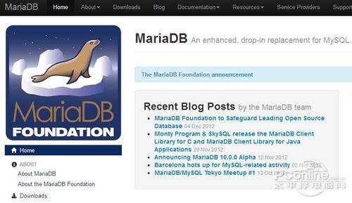 MariaDB官网