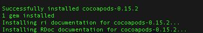 IOS开发:CocoaPods一个Objective-C第三方库的管理利器